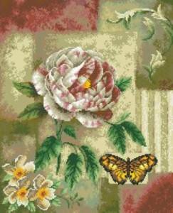 Схема Тигровая роза