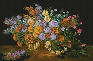 Схема Цветочное великолепие
