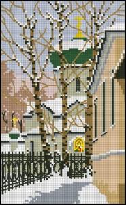 Схема Зимняя церковь