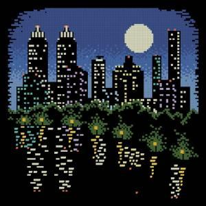 Схема Ночной город 2