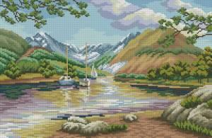 Схема Горное озеро