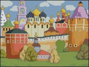 Схема Лубочный городок