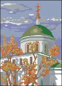 Схема Кафедральный собор осенью