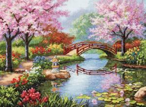 Схема Японский сад