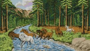 Схема Лошади в лесу