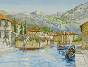 Схема Город на воде