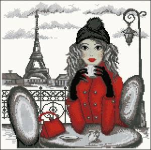 Схема Путешествие Мэри. Париж