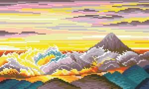Схема Восход на Фуджи