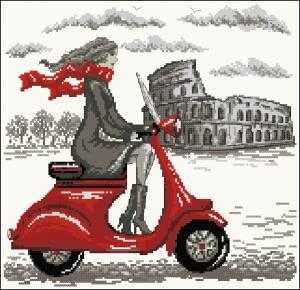 Путешествие Мэри. Рим