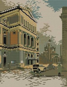 Схема Городской пейзаж