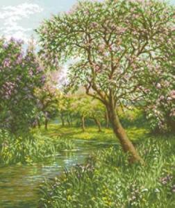 Схема Время весны