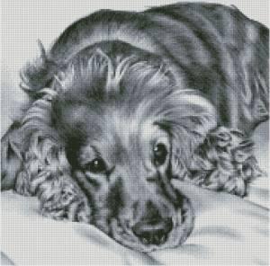 Схема Грустный пес