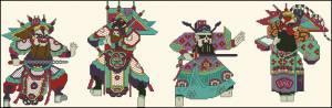 Четыре самурая
