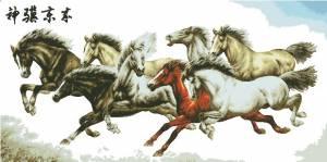 Лошади. Магия востока.