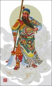Древнекитайский воин