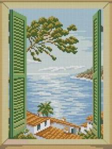 Море. Вид из окна 2