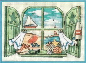 Морской вид из окна