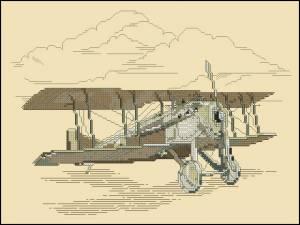 Схема Первый самолет