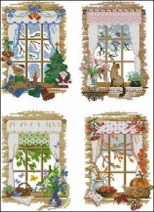 Схема Окна. Сезоны