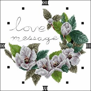 Часики с цветами 2