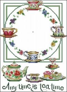 Часы Утренний чай