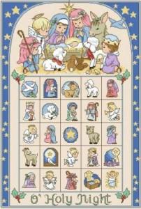 Святая ночь. Рождественский календарь