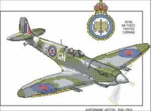 Схема Военный самолет