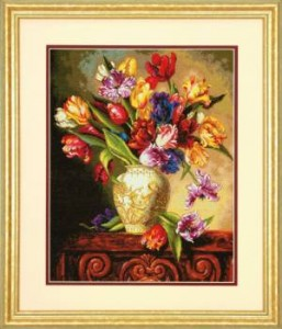 Схема  Тюльпаны / Parrot Tulips