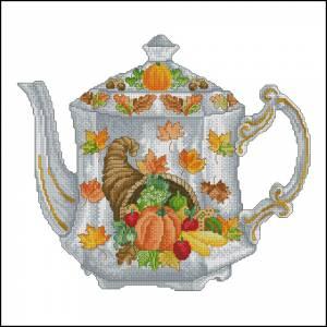 Схема Осенний чайник / Autum teapot