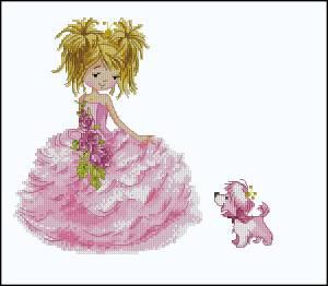 Принцесса с собачкой