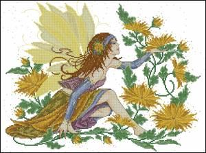 Фея хризантем