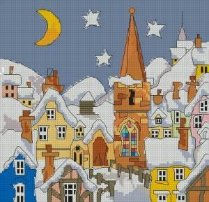 Схема Зимняя ночь