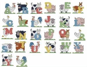 Схема Алфавит фермера