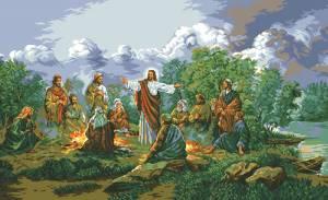 Схема Иисус и апостолы