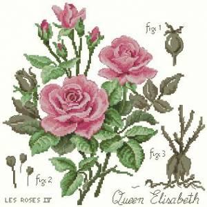 Схема Роза (розовая)
