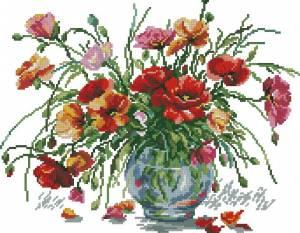 Схема Маков цвет