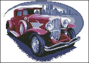 Схема Красное авто