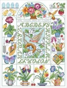 Схема Сэмплер «Весенний»