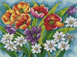 Схема Букет тюльпанов