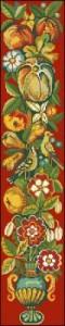Фруктово-цветочная панель