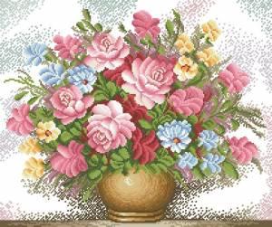 Схема Розовые розы