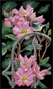 Схема Синичка в саду (Chickadee Perch)