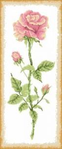 Схема Цветочные панели Роза