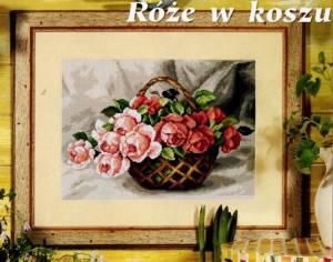Схема Розы в корзине
