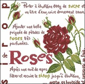 Схема Сэмплер с розой