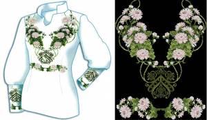 Сорочка хризантемы