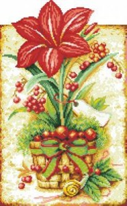 Схема Урожай лилии