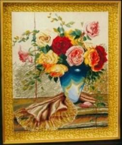 Схема Розы и шёлк
