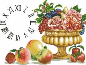 Схема Натюрморт с часами