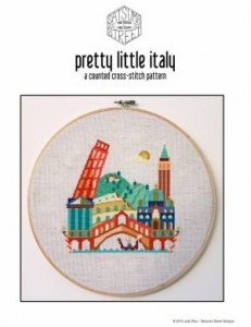 Схема Красочные города. Италия